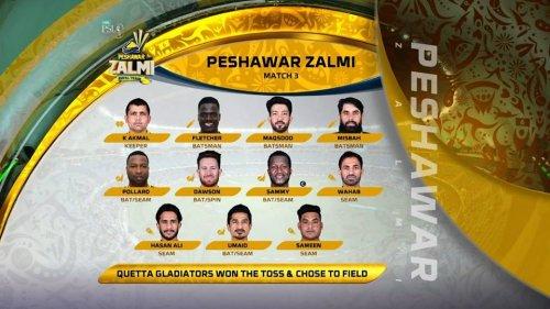 Peshawar Zalmi Team Players