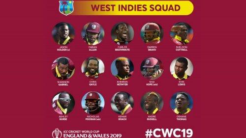 West Indies Squad