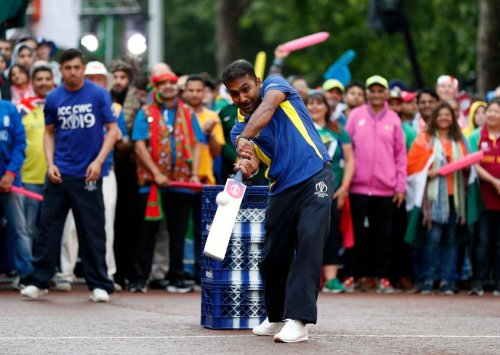 Mahela Jayawardene, Opening Party - ICC Cricket World Cup 2019